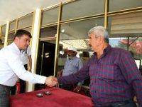 Başkan dinçer Aratol'lu vatandaşlarla çay içip hasbihal etti