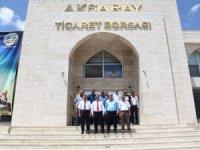 Vali Ali Mantı'dan Ticaret Borsasına ziyaret