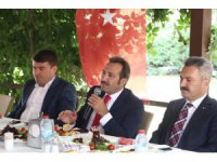 Vali Mantı kamu kurumları ile değerlendirme toplantısı yaptı