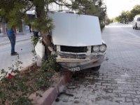 Eskil'de şoförün dikkati bir can kurtardı!
