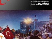 """Başkan Belgemen', """"Türk milletinin iradesine kastedenler, her zaman yenilmeye mahkumdur"""""""