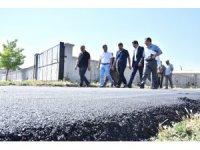 Başkan Kılca Çengilti'de asfalt çalışmalarını inceledi