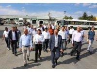 Başkan Kavuş ve meclis üyeleri belediyenin tesislerini gezdi
