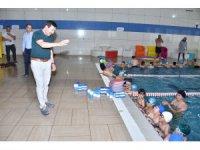"""Başkan Kılca: """"Geleceğin milli yüzücülerini yetiştiriyoruz"""""""