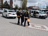 Aksaray'da polisin yakaladığı hırsızlık şüphelisi tutuklandı