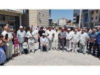 Kulu'da hacı adayları dualarla uğurlandı