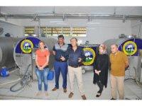 Sarayönü süt üreticilerine AB desteği