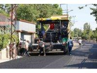 Ayanbey Sokak asfaltlama çalışması tamamlandı
