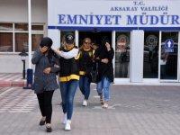 Aksaray'da fuhuş operasyonu: 24 gözaltı