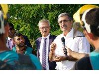 Konya Şeker'in Ağaçlandırma Projesi'ne bir destek de mahkumlardan geldi