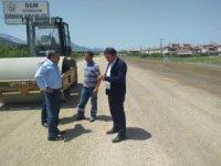 Seydişehir'de maden yolu asfaltlanarak kullanıma açıldı