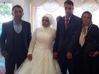 Fatma ile Raşit evlendi