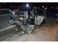 Konya'da Otomobil Otomobile Arkadan Çarptı: 8 Yaralı