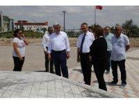 Beş futbol sahası büyüklüğündeki yeni park tamamlanmak üzere