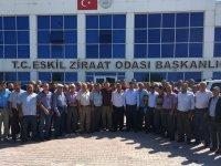 Kırlı, Balküpü Grup Başkanlarıyla Toplantı Yaptı! Eskil'de Pancar Üreticisi Tek Yürek!