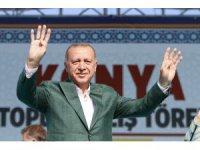 """Cumhurbaşkanı Erdoğan: """"Seçimlerdeki rekor desteğiniz için sizlere teşekkür ediyorum"""""""