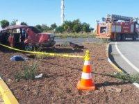 Eskil Eğrikuyu'da trafik kazası: 5 yaralı