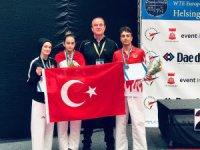 Beyşehirli milli sporcu Avrupa ikincisi oldu