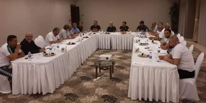 Nuri Doğan Turizm Afyonkarahisar'da istişare ve kaynaşma toplantısı yaptı