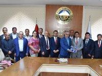 CHP Heyeti'nden Aksaray Ticaret Borsası'na Ziyaret