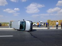 Eskilli şoförün kaza anı VİDEO