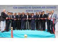 TÜMSİAD Konya Şubesi yeni hizmet binası açıldı