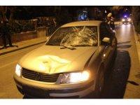 Konya'da otomobilin çarptığı vatandaş ağır yaralandı