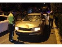 Konya'da otomobilin çarptığı yaya kurtarılamadı
