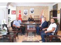 Başkan Kayan'dan Emniyet Müdürü Kolcu'ya hayırlı olsun ziyareti