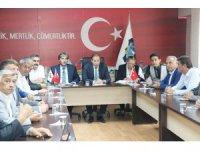Esnaf odası başkanları KVKK hakkında bilgilendirildi