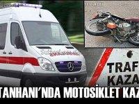 Sultanhanı ilçesindeki Motosiklet kazasında 2 kişi yaralandı