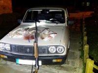 Otomobil Farıyla Tavşan Avına 9 bin 324 TL İdari Para Cezası Kesildi