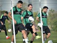 Konyaspor, hazırlıklarına devam etti