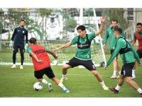 Konyaspor, Eskişehirspor maçı öncesi hazırlıklarını sürdürdü