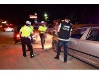 Konya'da uyuşturucu etkisi altında ve alkollü araç kullananlara yönelik denetim