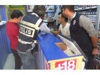 Aksaray'da yasa dışı bahis ve kumar uygulaması