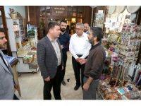 Başkan Dinçer, Somunca Baba Külliyesi esnafıyla buluştu