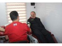 Konya Emniyetinden Barış Pınarı Harekatı'na kan bağışı desteği