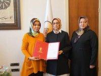AK Parti Eskil Kadın Kolları Başkanı Şenay Çalar Oldu