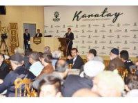 Başkan Kılca bu yıl hacca giden Karataylıları buluşturdu