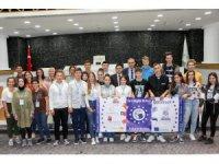 Erasmus öğrencileri Meram Belediyesini ziyaret etti