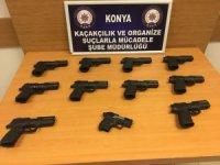 Konya polisinden suç unsurlarını önlemeye yönelik denetim
