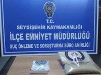 Konya'da otomobilde paspas altına gizlenmiş uyuşturucu ele geçirildi