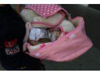 Konya'da sokağa bırakılmış 3 kardeş bebek bulundu