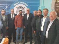 Milletvekili Kaşlı'dan Eskil'de bir dizi ziyaret