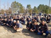 Mustafa Uzar dualarla son yolculuğunu uğurlandı
