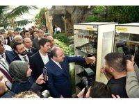 Bakan Varank, Tropikal Kelebek Bahçesi'ni ziyaret etti