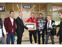 Beşiktaş, Konya'da coşkuyla karşılandı