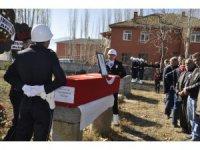 Kalbine yenik düşen polis memuru son yolculuğuna uğurlandı