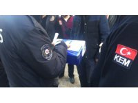Hollanda'dan kargo ile gönderilen koliden kokain çıktı